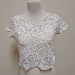 3FOR$20 Women see through top ambiance size m